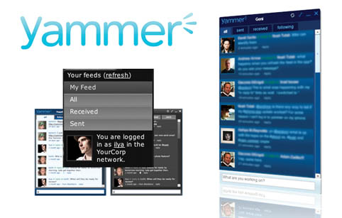 Yammer permite crear redes sociales