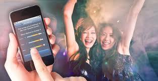 HeatMapz aplicación smartphone para aficionados a los discotecas, fiestas y conciertos.