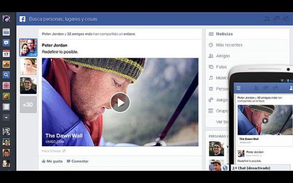 Facebook anunció que cambiará